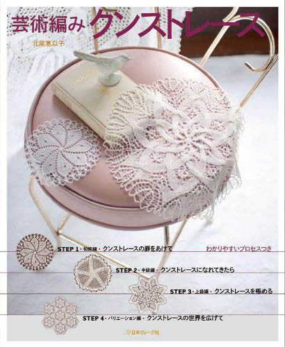 Art knitting Kunst lace