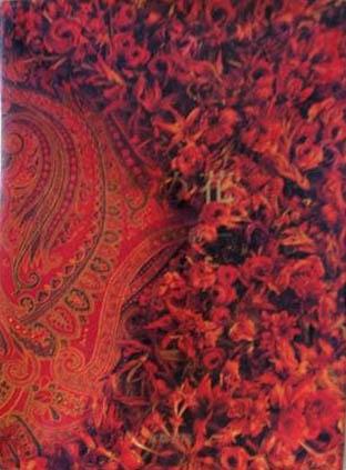 The dye flowers - esthetic life