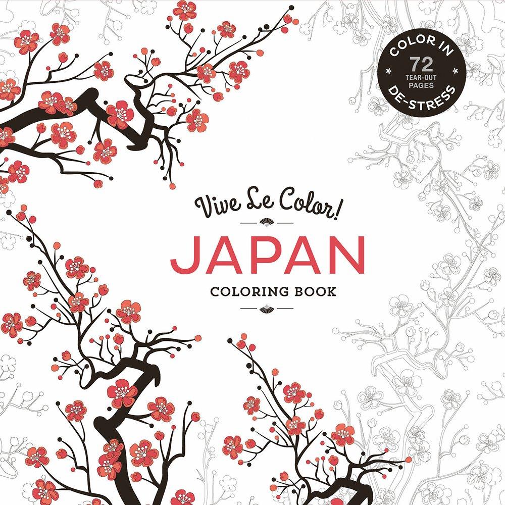 Vive Le Color! Japan (Adult Coloring Book)