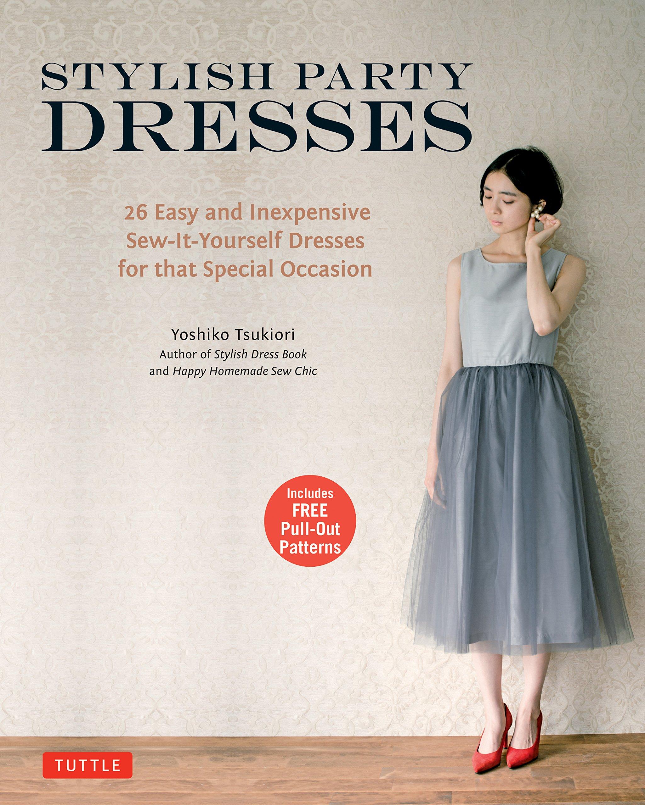 Stylish Party Dresses by Tsukiori Yoshiko