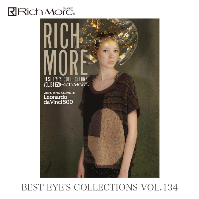 RICH MORE (Rich-Moor) BEST EYES COLLECTIONS Vol.134 2019 spring and summer
