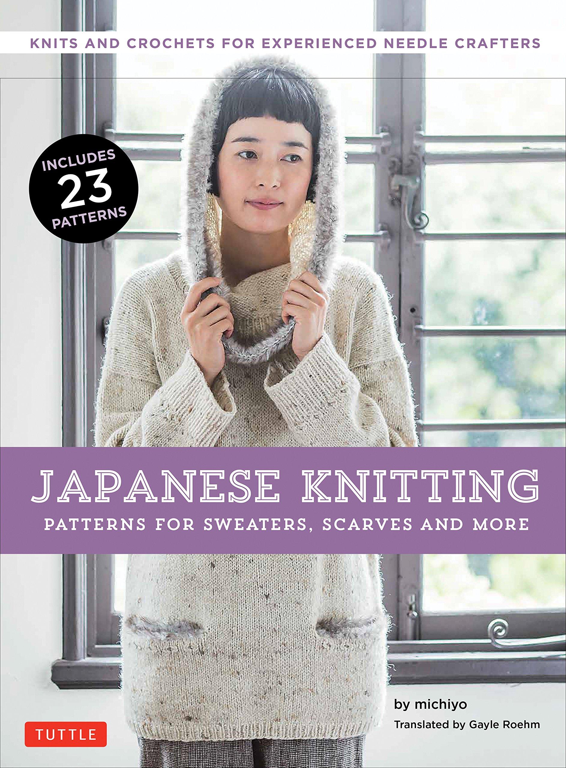 Japanese Knitting: Patterns for Sweaters - Michiyo