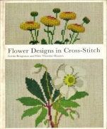 Flower Design in Cross Stitch