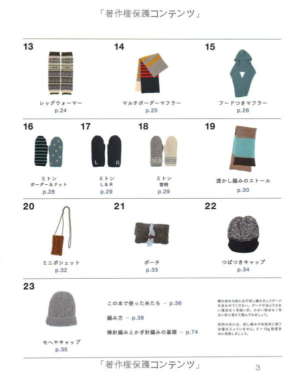 Knit of stylist Sato Kana