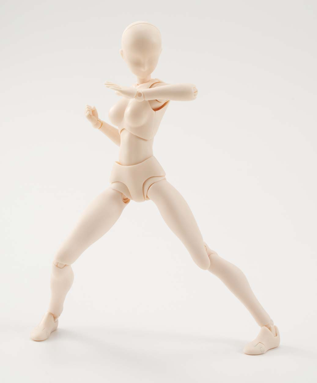S.H. Figuarts Body-chan  (Pale orange Color Ver.)  About 135mm