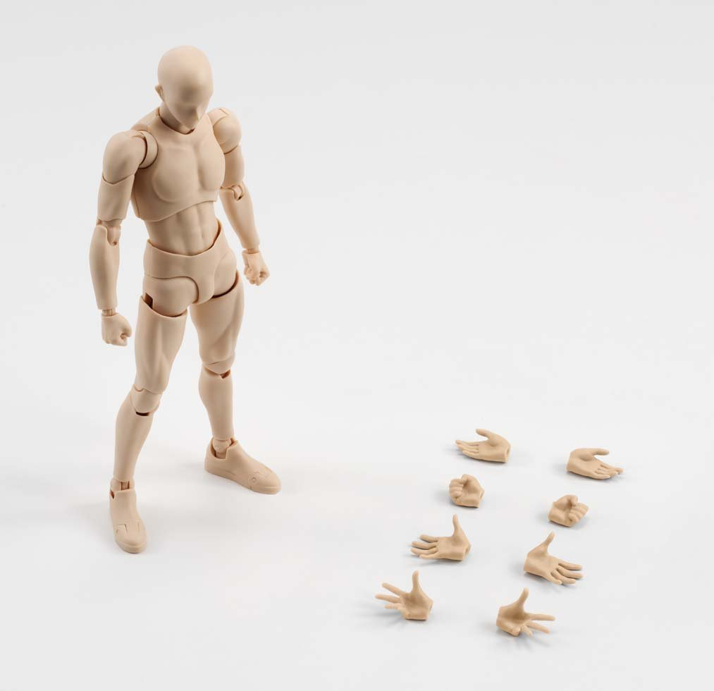 SH Figuarts body-kun (Pale orange Color Ver.) About 150mm