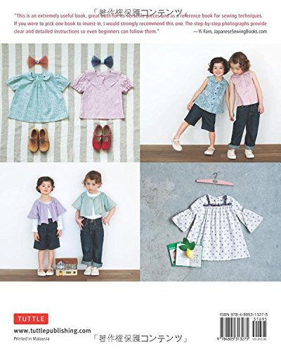 Sewing for your girls-easy instructions for DRE by Yoshiko Tsukiori