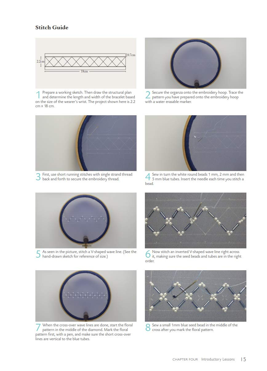Bead Embroidery Chinese Style: A Step-by-step Visual Guide With Inspiring Projects