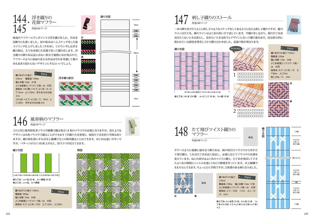 Make of seasons handwoven scroll design 150