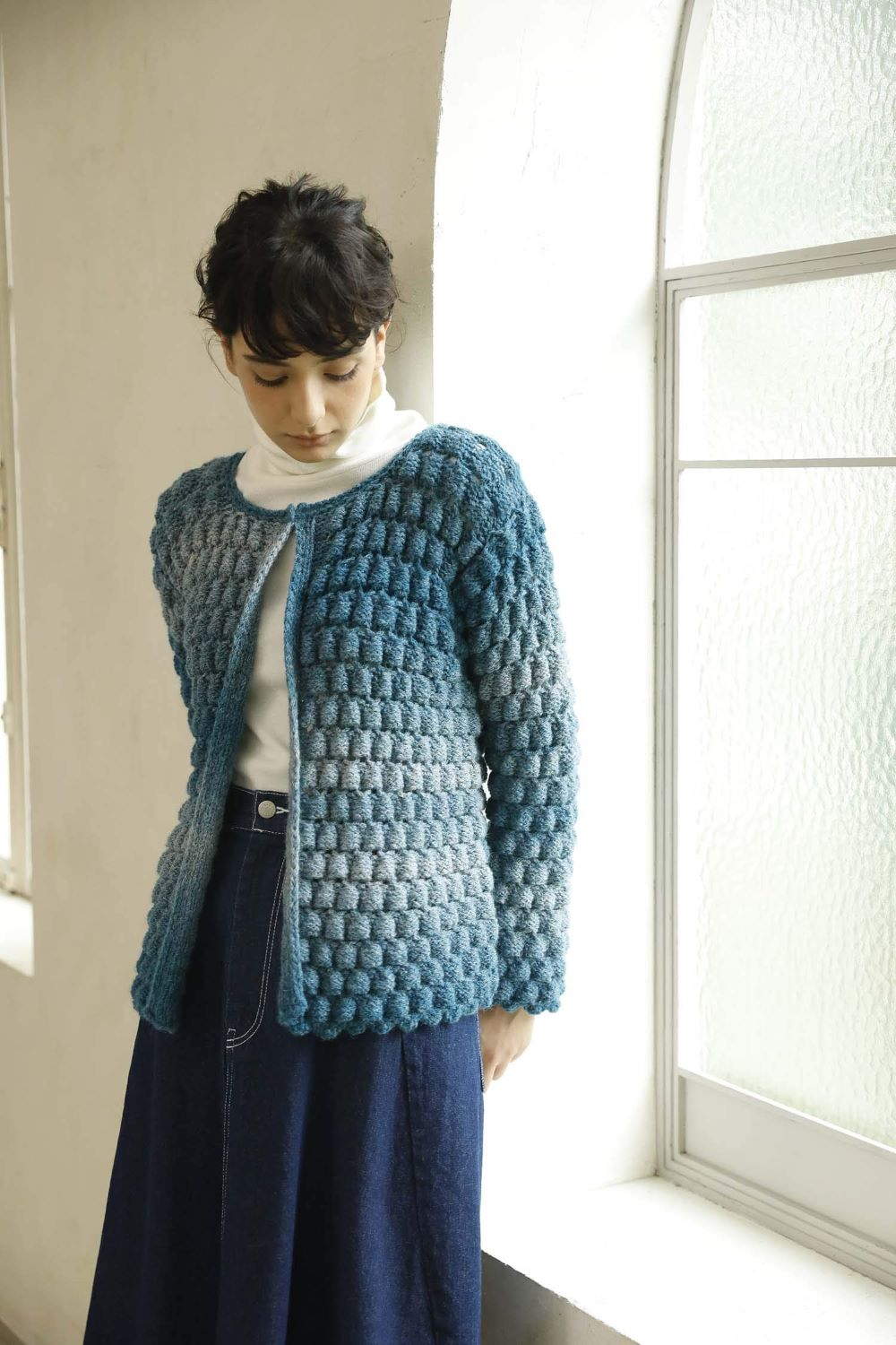 Wonder knit (with knitted fabric as the main character)