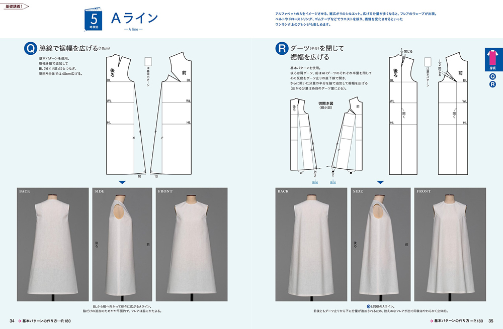 Magazine pattern School Vol.4 Dress Hen