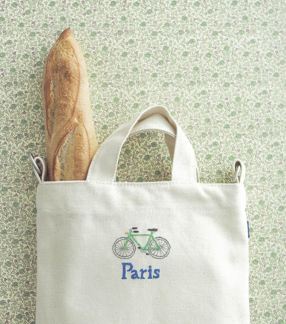 Cute embroidery of Paris, France 500