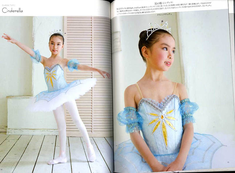 Hand-made ballet costumes