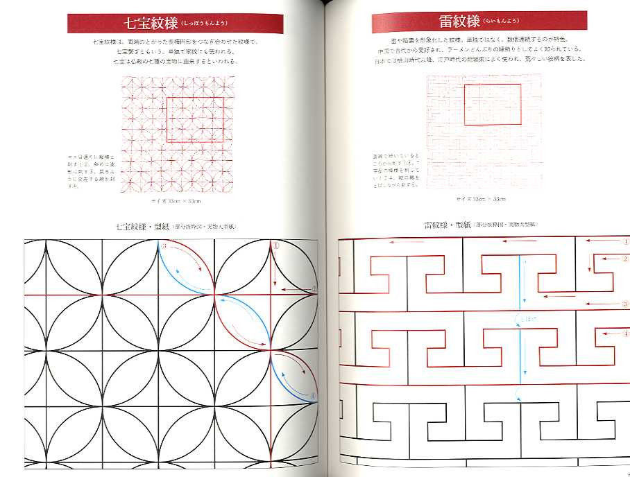 Sashiko Embroidery Designs - Beautiful needlework
