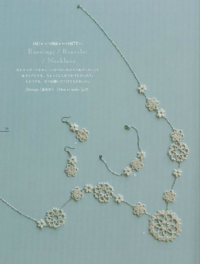 The first time of Tatting book