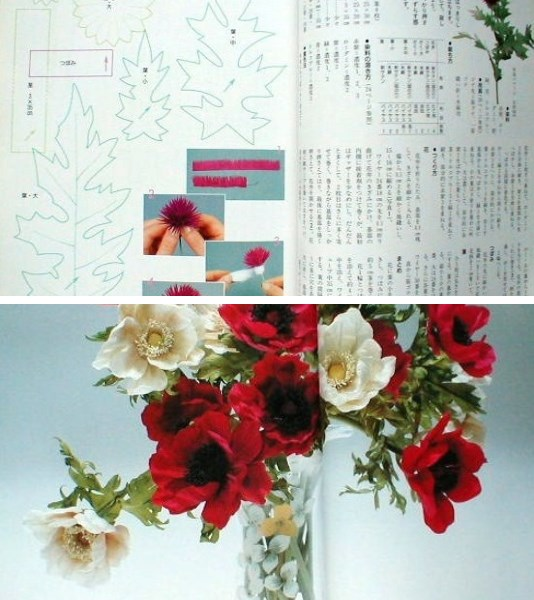 Beautiful cloth art flowers. Part2 Tomoko Iida