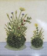 4 схемы для вышивки из книги Kazuko Aoki