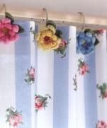 Украшение для гардин крючком из журнала Pretty Color Crochet Goods 4 2012