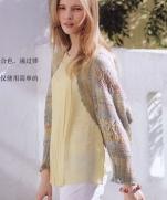 Болеро крючком из журнала Lets Knit Series Crochet in Europe 2013 / Spring-Summer