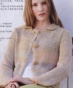 Кардиган на спицах из журнала Lets Knit Series Crochet in Europe 2013 / Spring-Summer