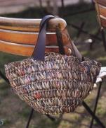 Вязаная крючком сумка из журнала Lets Knit Series Crochet in Europe 2013 / Spring-Summer