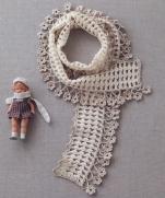 2 шарфика крючком из журнала Crochet Best Selection