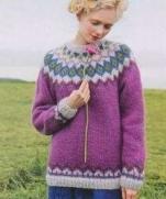 Схемы вязания свитеров из журнала Keito Dama No.155 2012