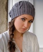 Вязаная шапочка  Звезда рока  от Kim Hargreaves