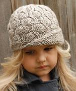 Детская шапочка с подбором узора
