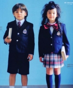 Выкройка школьной формы на рост 110, 120 и 130 см.