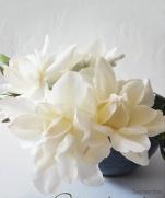 Цветы из ткани китайского дизайнера WEN HUNG KAO