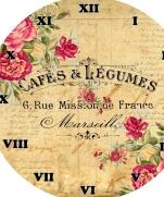Винтажные циферблаты с цветами