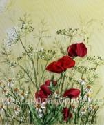 Работы Александры Гордиенко - вышивка шелковыми лентами