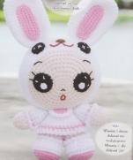 Кукла-анимэ в костюме зайчика