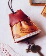 Ключница из кожи своими руками из журнала COTTON TIME 2014-1