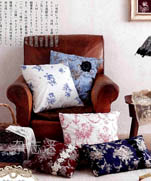 Кружево и подушки в интерьере