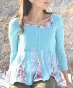 Мастер-класс по переделке свитера| Tutorial ~ Sweater Refashion