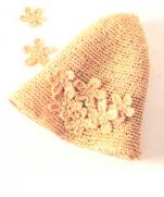 Вязание детской шляпки крючком