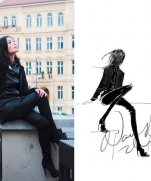Художник-иллюстратор Nancy Zhang (Часть 3) | Fashion Illustrator Nancy Zhang. Part 3