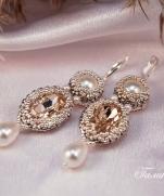 Ажурное оплетение ювелирных кристаллов