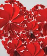 Картины и открытки из сердечек
