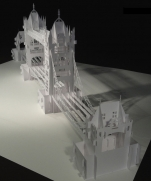 The London Tower Bridge Pop-up Origami Architecture Kirigami