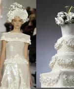 Торты от кутюр - Свадебные торты 2013-2014