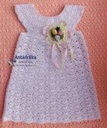 Зефирка - нежное платье-туника-маечка
