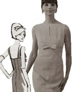 Платье в стиле 60-70х годов