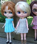 Blythe fashion design crochet