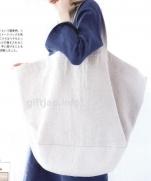 Вместительная сумка из журнала cotton friend 2015 spring vol.54