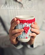 Fashion cups | Вязаная одежда-светер для кружки: идеи + МК