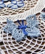 Салфетка с бабочками