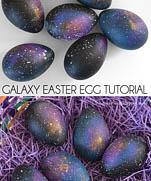 Космическое яйцо мастер-клас | Galaxy Easter Egg Tutorial